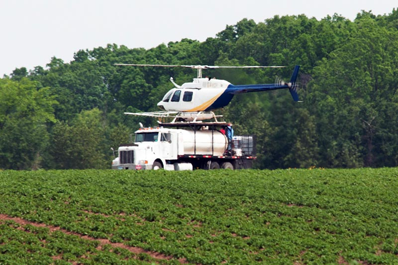 Agricultural Helicopter Support and Nurse Trucks