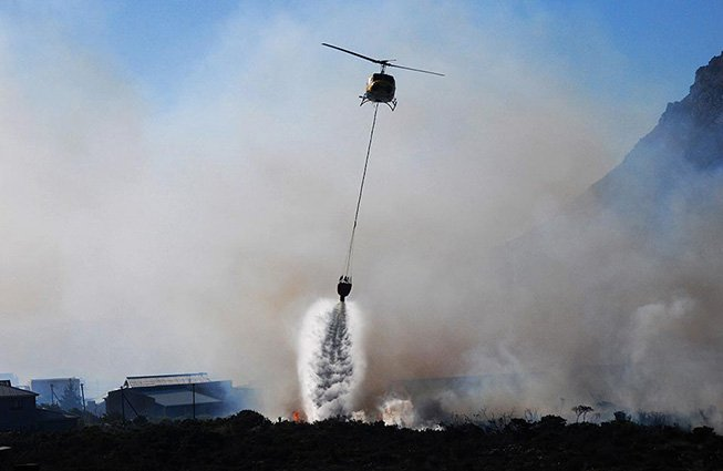 Helicopter Firefighting Houston